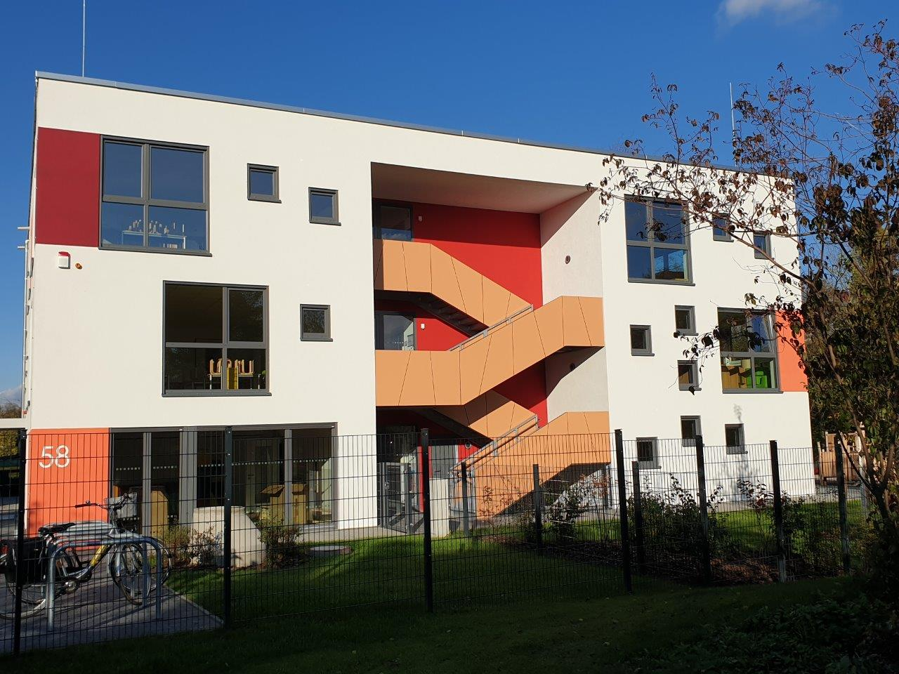 Fassade der Kindertagesstätte